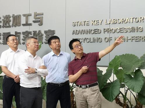 温州市副市长汪驰一行赴兰州理工大学作产学研合作交流
