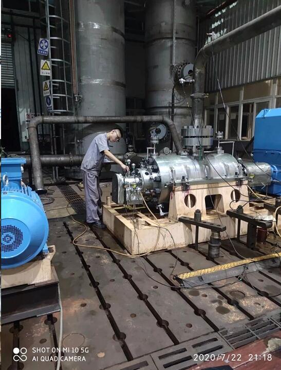 重庆水泵:试验站攻坚克难突击生产任务