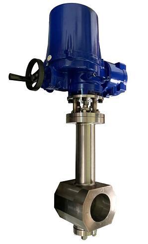 图:哈电阀门生产的熔盐蝶阀