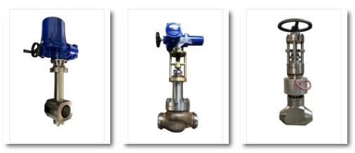 图为哈电集团生产制造的国产光热发电熔盐阀(此次参展产品)。