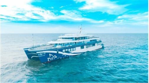 永磁同步發電機裝船交付,其技術應用在全球船舶領域開創先例