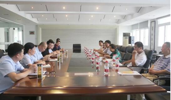 原安徽省副省长宋明女士携中科院专家到恒大江海泵业视察参观