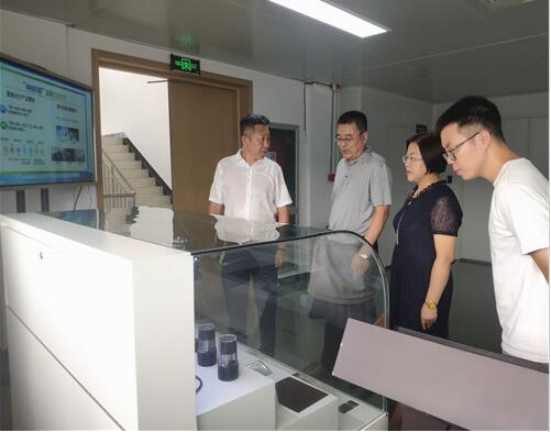 兰理工泵阀院走访温州大学激光与光电智能制造研究院