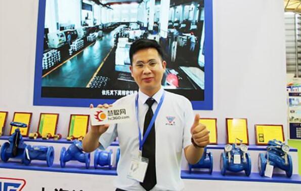 上海沪工市场部总监何小忠先生