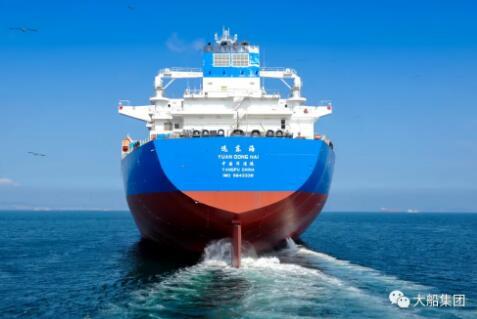 大船幸运快三:新一代15万吨原油船交付!