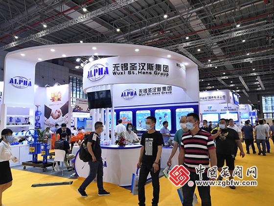 无锡圣汉斯集团参加2020第九届上海国际泵管阀展览会