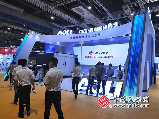 奥利机械集团参加2020第九届上海国际泵管阀展览会