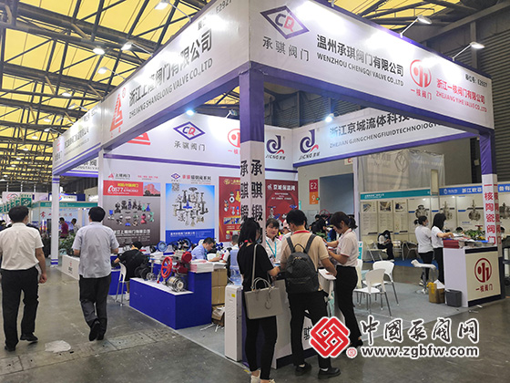 一核陶瓷阀参加cippe2020第二十届中国国际石油石化技术装备展览会