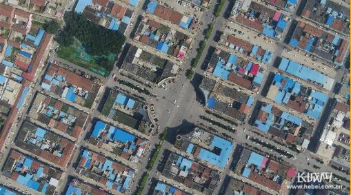临西县轴承专业市场――轴承大世界俯瞰图。