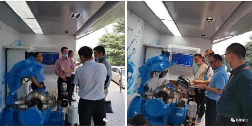 上海凯泉泵业亮相2020青岛国际水大会