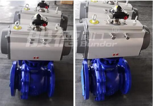 东南亚某公司化工项目使用般德气动衬氟铸钢球阀