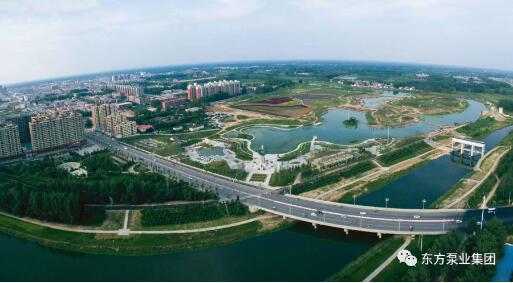 上海东方泵业助力城市水系综合治理
