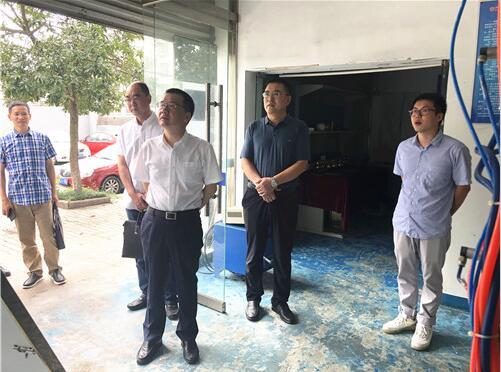 永嘉县副县长胡宋孝调研兰州理工大学泵阀研究院