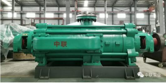 中聯泵業自平衡多級泵亮相太原煤炭技術裝備展