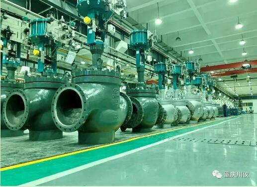 重庆川仪低温球阀达到英国BS6364标准