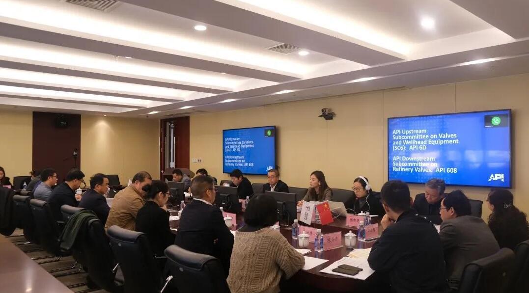 中国石化南京阀门供应储备中心组织召开API技术交流会