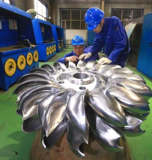 国内首台增材制造冲击式水轮机真机转轮在哈电集团研制成功