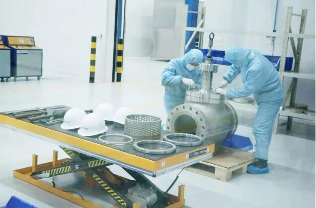 """艾坦姆高端流体控制阀生产项目入选全市重点项目现场观摩""""十佳项目"""""""
