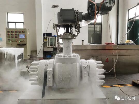 江苏亿阀LNG深冷球阀顺利通过中通协国产化鉴定