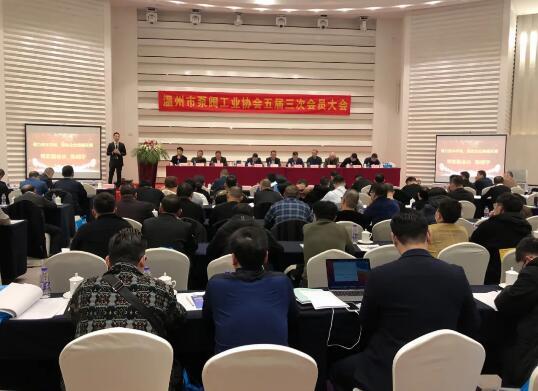 温州市泵阀工业协会五届三次会员大会顺利召开