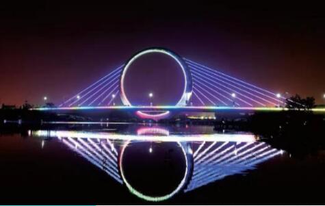 """▲ 蝶湖""""戒指桥"""""""