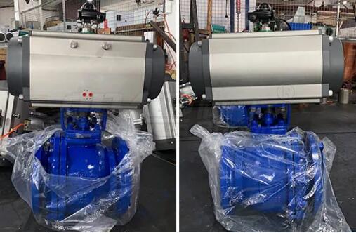 东南亚某公司化工项目采购般德气动衬氟球阀