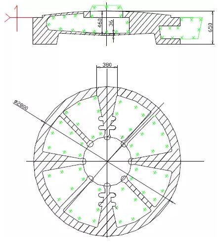 大型蝶阀的铸造工艺 图1