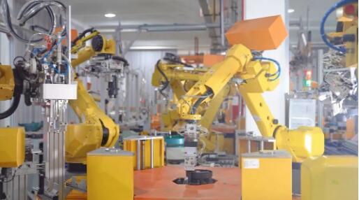 100%自动化!FANUC机器人助力水泵无人化柔性生产