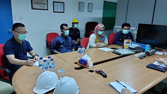 項目部安排部署新冠肺炎疫情防控措施。