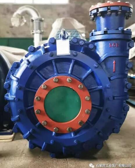 石工泵公司250TC新型陶瓷泵順利發往用戶