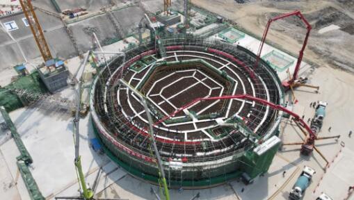 我国自主三代核电华龙一号在海南正式开工建设