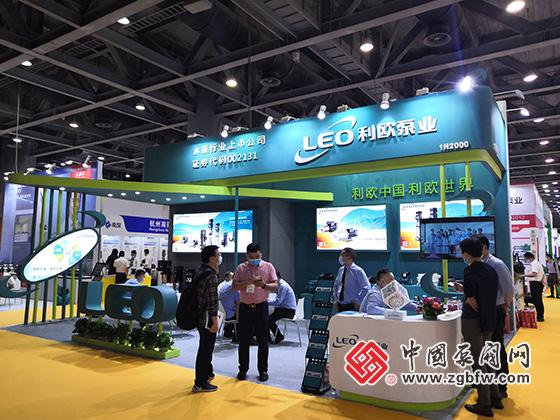利欧泵业参加2021第六届广东泵阀展