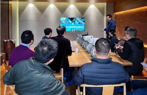 浙江省仪器仪表行业协会金建祥理事长一行考察、走访企业