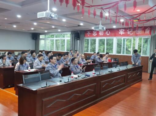 重庆水泵召开第七期区域改善成果发布会