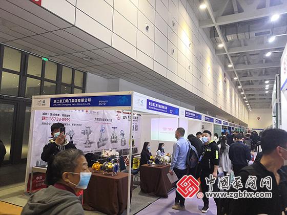 浙江重工阀门集团有限公司参加第23届山东国际供热供暖及燃气装备展览会