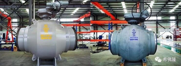 希佛隆閥門集團48寸Class600、56寸Class900高壓大口徑全焊接球閥 通過新產品鑒定