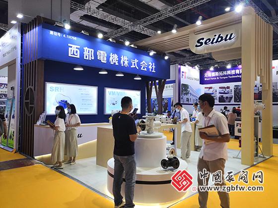 西部电机株式会社参加上海国际泵管阀展览会