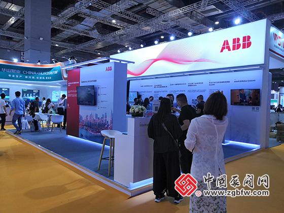 ABB参加上海国际泵管阀展览会