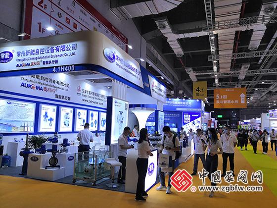常州新能自控设备有限公司参加上海国际泵管阀展览会