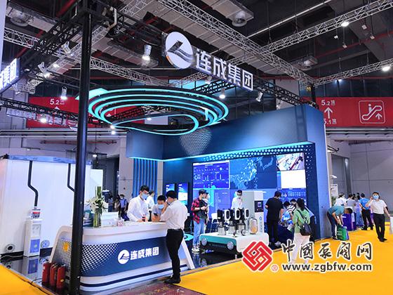 连成集团参加上海国际泵管阀展览会