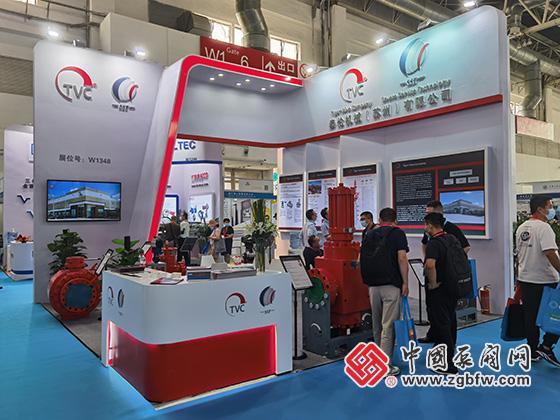 泰伦机械(苏州)有限公司参加2021cippe中国石油石化技术装备展览会
