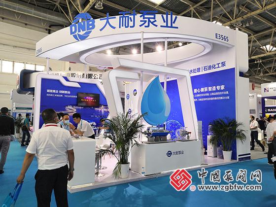 大耐泵业有限公司ABB参加2021cippe中国石油石化技术装备展览会