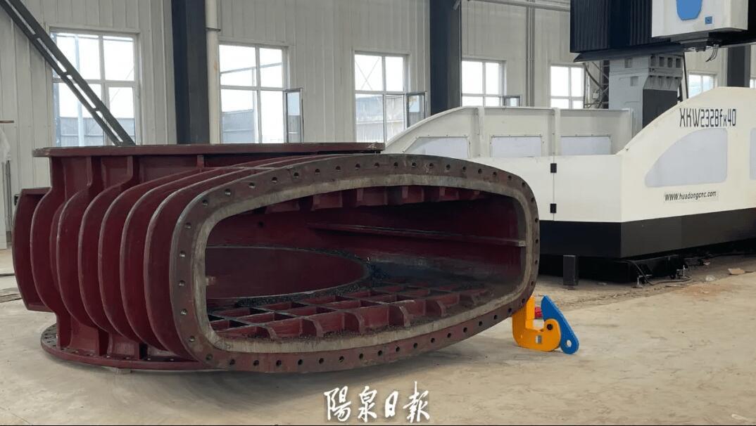 总投资3亿元!新型大口径煤气阀门项目开始试生产