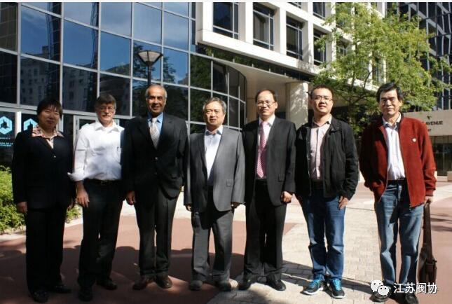 项美根(右一)应邀出席国际标准化委员会ISO/TC153(阀门)第二届全体会议