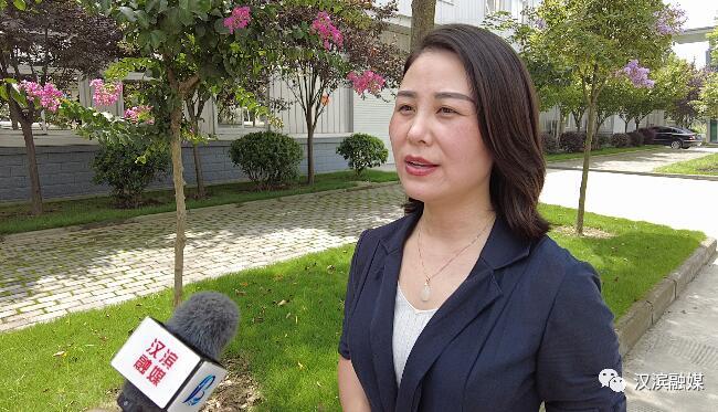 汉滨区五里工业集中区项目招商部副部长 徐宏梅