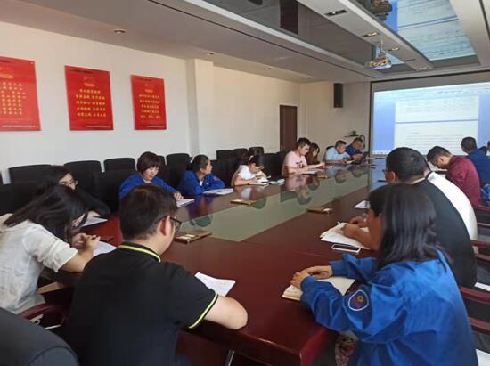 五二五泵业公司产品工程部召开部门质量会议