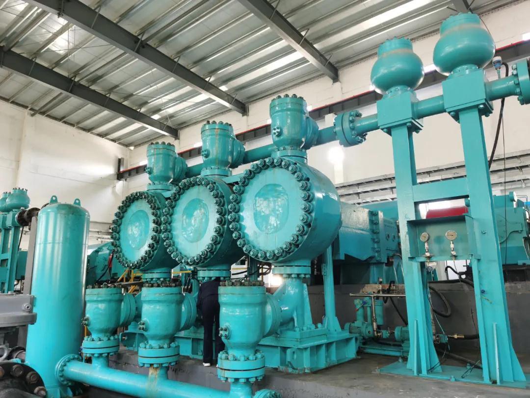 重庆水泵生产的新疆某项目第一台产品顺利交付