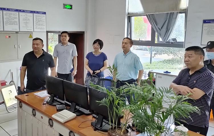 浙江省计量院开展国庆期间安全生产和消防安全检查