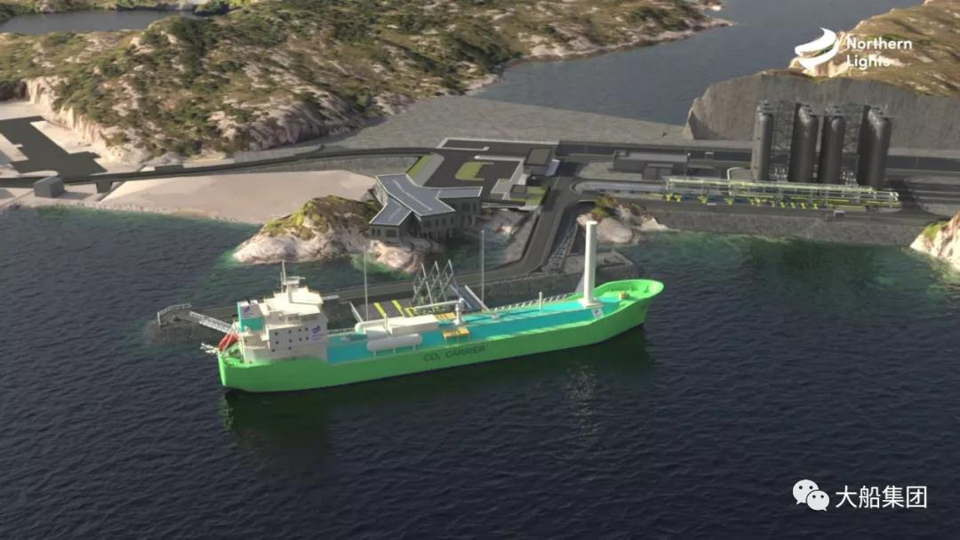 7500立方米液化二氧化碳运输船3D模型