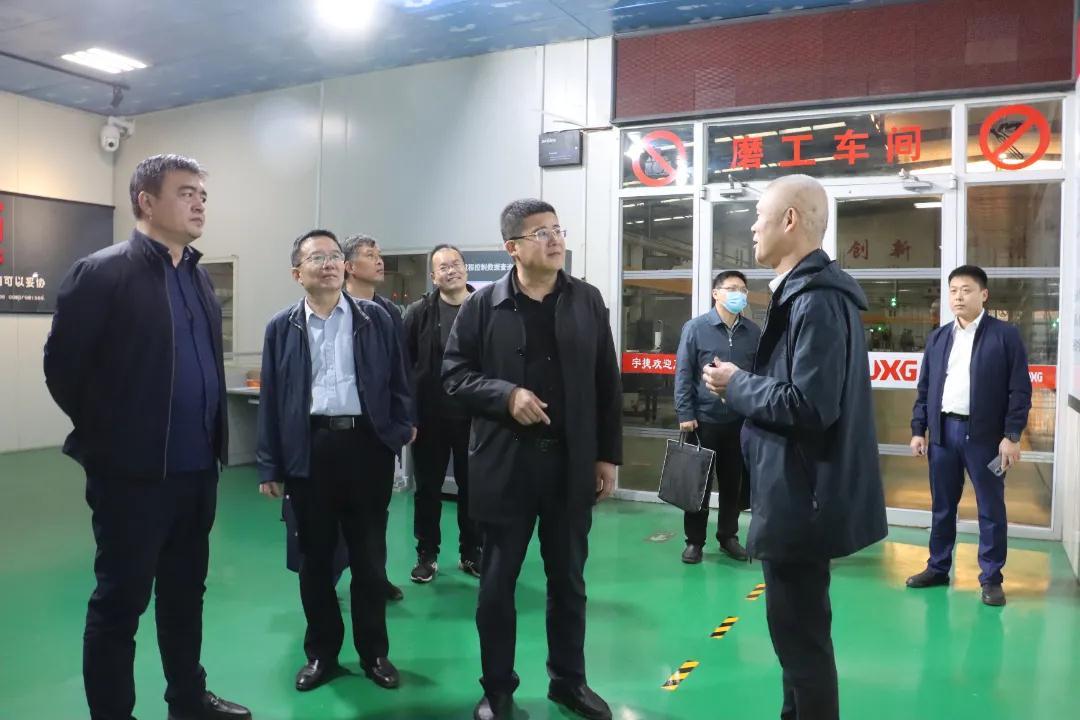 聊城市副主任王永民一行到访临清市轴承商会开展调研工作